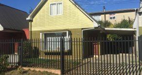 Casa amoblada de 3 dormitorios y 2 baños en Parque Krahmer, Valdivia