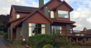 Vendemos casa de 4 dormitorios con vista al Río Cruces, Isla Teja, Valdivia